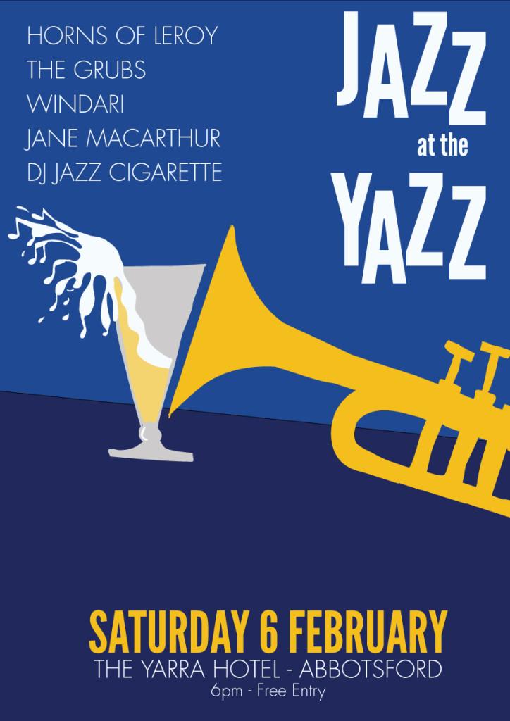 Jazz Yazz Poster